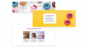 custom landing page modules for digital promotions