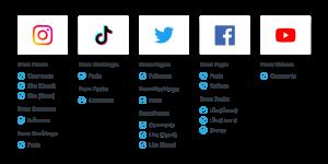 social media entry capabilities